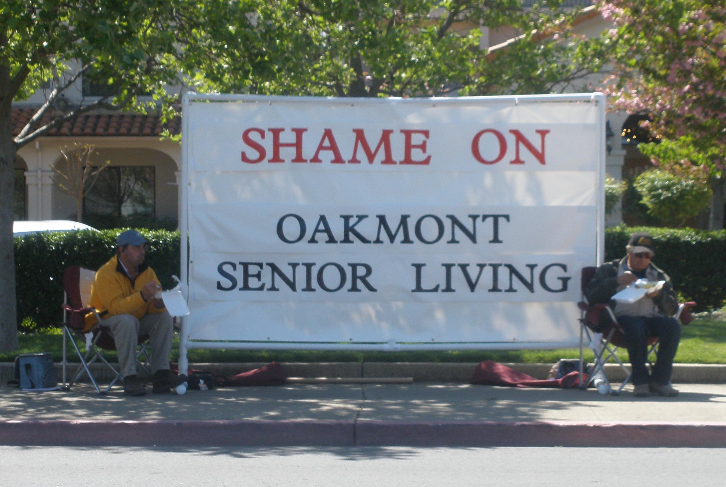 Shame on oakmont senior living diablo reporter for The oakmont