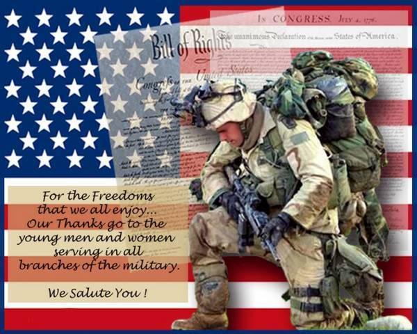 freebies for troops