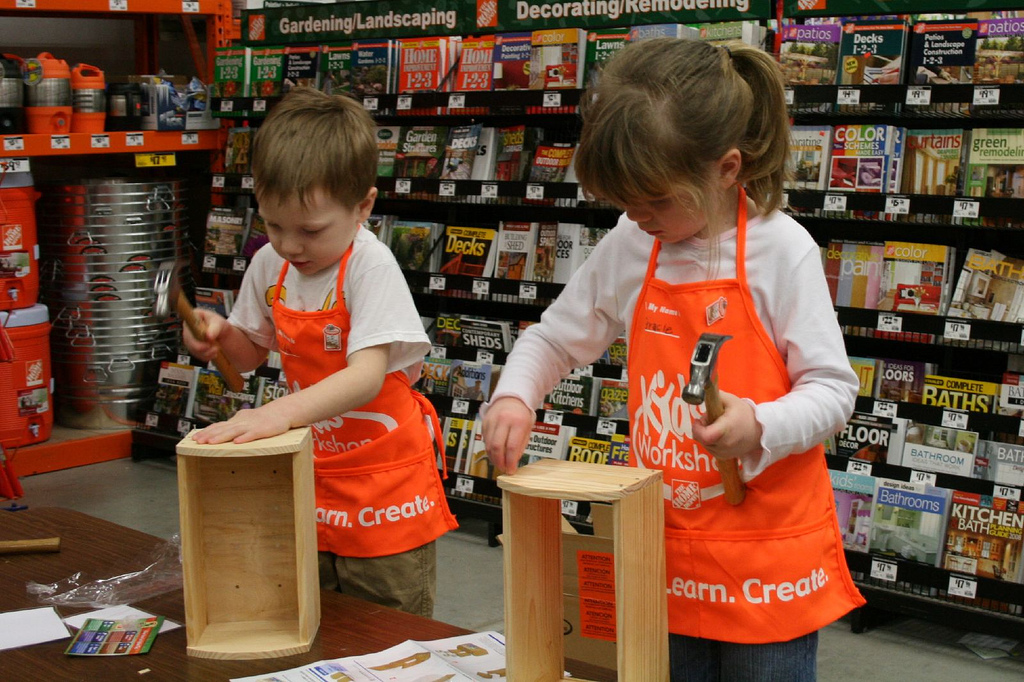 home depot kids workshop free load n go truck diablo