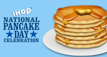 Free Buttermilk Pancakes Today Only